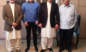 At Gulzar House Islamabad