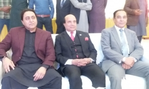 Mr. Waqar Ahmed Khan with Ex Governor Punjab Sardar Latif Khan Khosa  and  Ex Chairman NAB Ch. Fakhar-u-Zaman