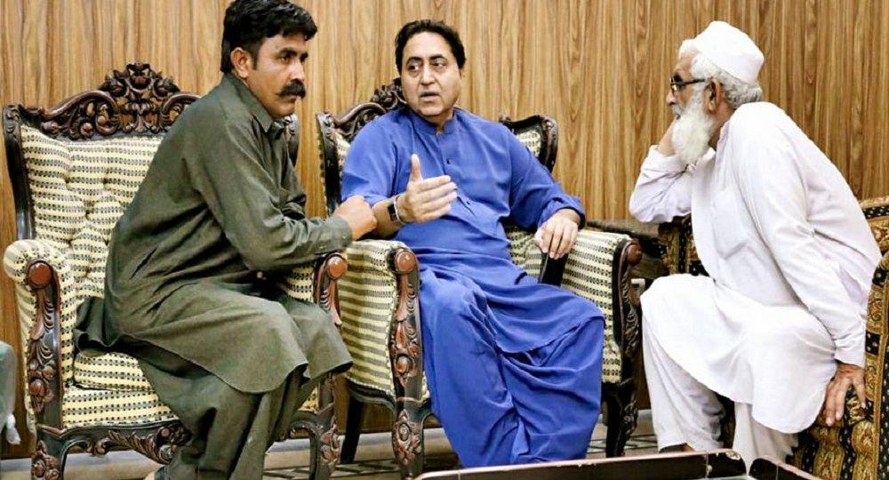 Meeting with Saif ur Rehman