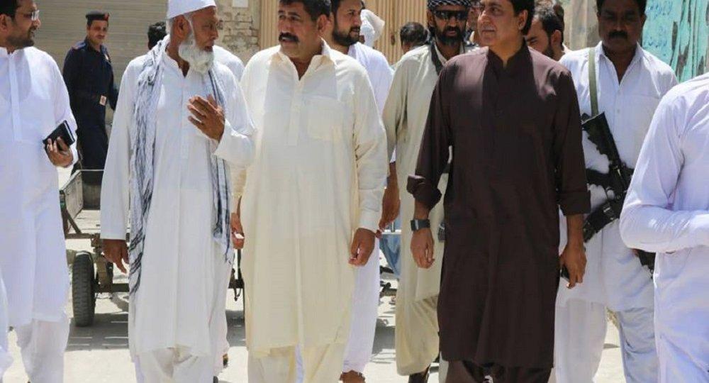 visiting Dear Ismail Khan Areas
